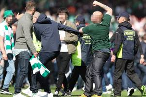 scottish cup final arrests total hits 76 as police detain another six men