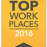 ISG Recognized as an Iowa Top Workplace for 2016