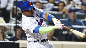 watch: braves rob yoenis cespedes, mets of walk-off home run