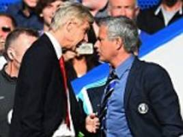 Arsenal manager Arsene Wenger brushes off suggestions Manchester United boss Jose Mourinho wants to 'break his face':