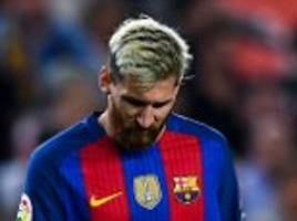 Barcelona face three weeks without Lionel Messi… but who has football's toughest task of replacing the icon?
