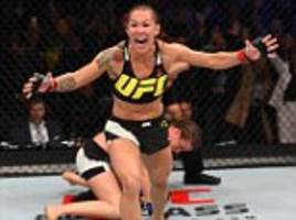 UFC Fight Night preview: Fearsome Brazilian Cris Cyborg faces Lina Lansberg on home turf as Roy Nelson battles Antonio 'Bigfoot' Silva