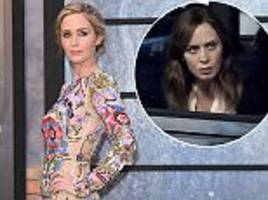 The Girl On The Train's Emily Blunt reveals she hid her PREGNANCY during filming