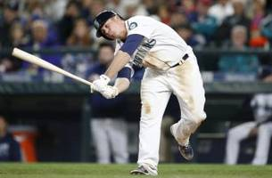 seattle mariners suspend catcher steve clevenger for rest of the season