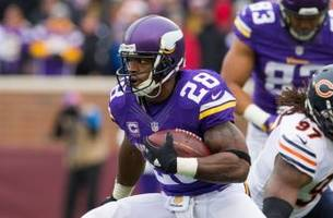 Adrian Peterson placed on injured reserve by the Minnesota Vikings