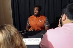 texas football: kent perkins an unwelcome distraction during bye week