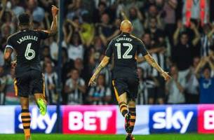 who makes the aston villa and newcastle combined xi?