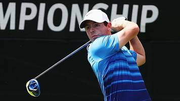 Tour Championship: Rory McIlory in contention as Dustin Johnson leads