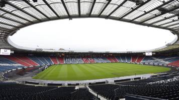hampden to stage league cup semi-finals