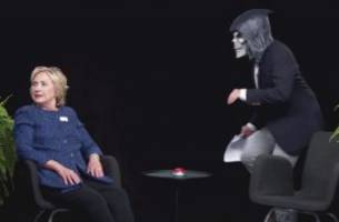 Hillary Clinton's Between Two Ferns Sitdown Broke Viewing Records for Funny or Die