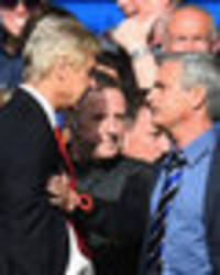 'Nasty, vile little man!' Twitter lays into Jose Mourinho over Arsene Wenger comments