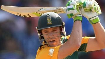 south africa v ireland: de villiers to miss benoni game