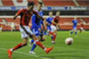 lica scores quality goal as nottingham forest under-23s draw with...