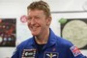 Astronaut Tim Peake's new book features photographs from space...