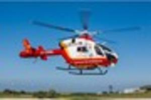 Air ambulance called as Falmouth to Redruth road closed due to...