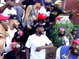 Game & Uncle Murda Bring The Hood Out, Shoot Meek Mill & Beanie Sigel Diss Music Video [Video]