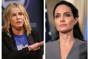 Jennifer Aniston's pal blasts 'lunatic' Angelina Jolie as she weighs in on Brad Pitt divorce drama