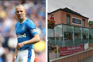 rangers idol kenny miller arrested after old firm wine bar brawl