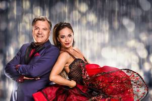 strictly come dancing's ed balls says his 'inner camp' is coming out and he's started hugging people - except george osborne