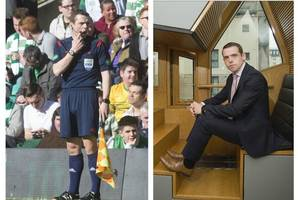 tory msp blows off key parliament vote to take part in world cup referee training