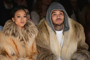 Chris Brown dating LA model as Karrueche Tran split