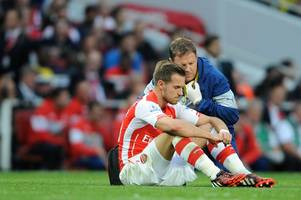 arsenal fc boss arsene wenger confirms aaron ramsey is set to miss wales' world cup qualifier against austria