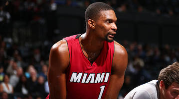 Report: Chris Bosh fails physical with blood clotting, no timetable for return