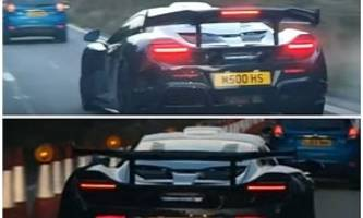 mclaren mso hs demonstrates its airbrake fixed rear wing in first drive video