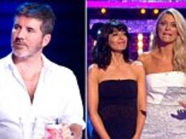strictly come dancing vs x factor in battle of saturday night tv... but can simon cowell stop the bbc show waltzing away with the ratings?