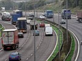 britain's slowest motorway the m606 in yorkshire has an average speed of 25mph