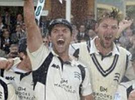 angus fraser calls on middlesex to repeat county championship success after beating back-to-back champions yorkshire to seal first title in 23 years