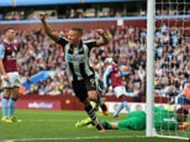 Aston Villa 1-1 Newcastle: Suspended Jack Grealish left out as Aaron Tshibola's last-gasp strike rescues Roberto Di Matteo