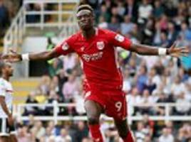 fulham 0-4 bristol city: lee johnson's side win at craven cottage as tammy abraham finds the net once again