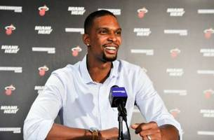 Chris Bosh on failed physical: 'Setbacks happen but that doesn't change my intentions'