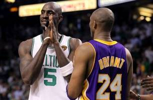 kobe bryant reacts to kevin garnett retirement