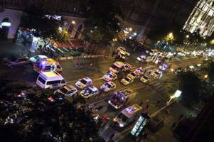 massive explosion rocks budapest, multiple injuries, heavy police presence