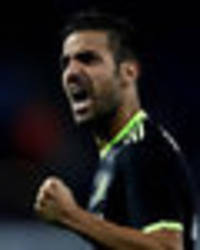 Chelsea Line-Up: Conte gives Cesc Fabregas first league start of the season