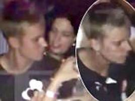 Justin Bieber pulled away from attacker by woman dressed as FRAULEIN in Munich
