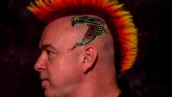 champions league of darts: peter wright's outrageous hair