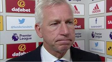 sunderland 2-3 crystal palace: players kept believing - alan pardew