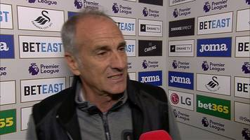 swansea 1-3 man city: francesco guidolin 'proud' of players despite loss