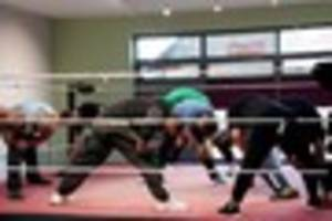 'we've turned our lives around - by wrestling in a derby church...
