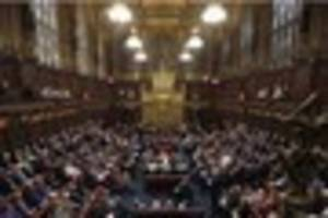 House of Lords-a-sleeping: The peers who don't turn up