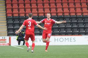 airdrieonians 0 albion rovers 2: coatbridge men make history with stunning derby-day win