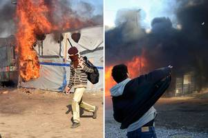 French President confirms plans to permanently close controversial 'Jungle' migrant camp in Calais