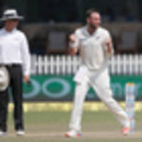 cricket: black caps battle but india in command