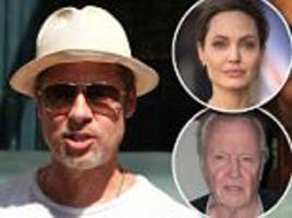 Brad Pitt 'wants father-in-law Jon Voight to play peacemaker' and 'build bridges' to wife Angelina Jolie as star actor is 'torn up' over not being able to see his kids in messy custody battle
