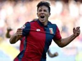 Diego Simeone's son Giovanni scores on debut for Genoa with sweet strike