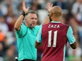 jon moss isn't respected by players... the fact he cautioned five west ham men at london stadium showed he doesn't know how to control a game