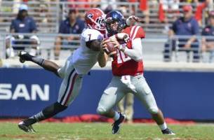 chad kelly shows nfl what they want to see!